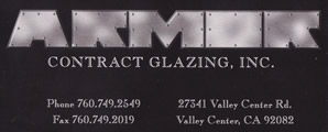 Armor Contract Glazing, inc.